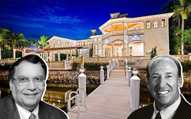 From left: Dr. Kris Singh and Anthony Lomangino with 490 Mariner Drive