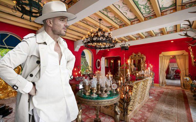 Alan Faena and his home at 4731 Pine Tree Drive (Credit: Wikipedia, The Alexander Group)
