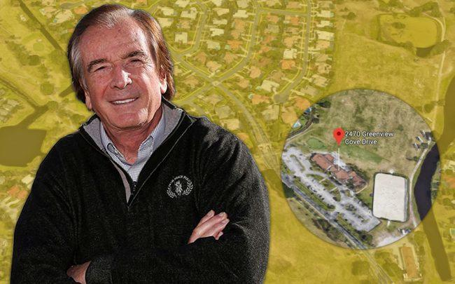 Glenn Straub and the Palm Beach Polo and Country Club property (Credit: Google Maps)