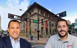 Old Post Office building, Biscayne Bay Brewing's Jose Mallea and Stambul USA's Daniel Peña (Credit: Google Maps)