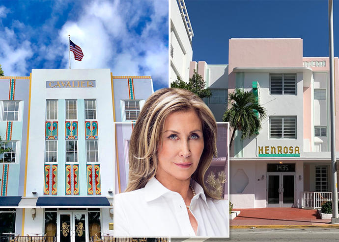Cavalier and Henrosa hotels with Susan Gale of One Sotheby's International Realty