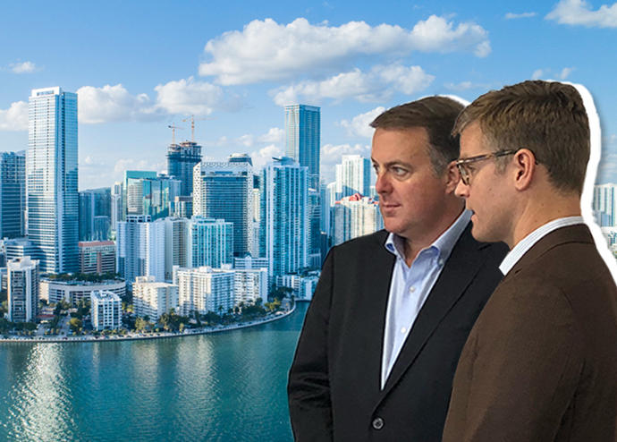 ULI South Florida focus group leaders Andrew Frey and Greg West