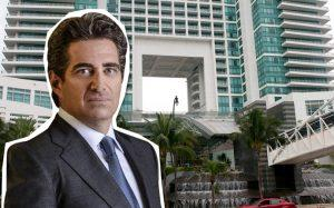 Jeffrey Soffer and the Diplomat Beach Resort (Credit: Getty Images)