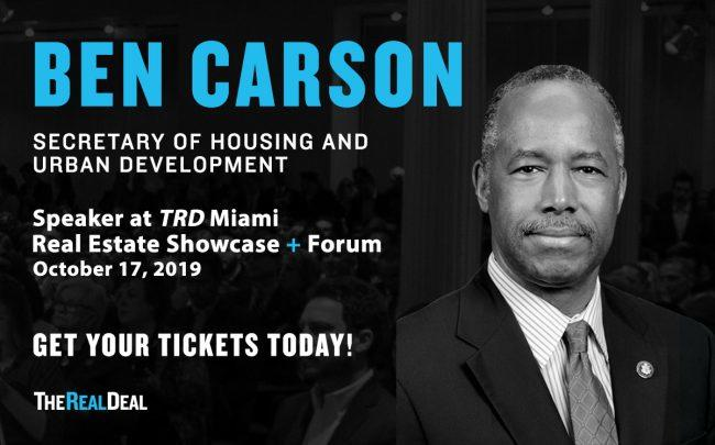 Ben Carson, United States Secretary of Housing and Urban Development