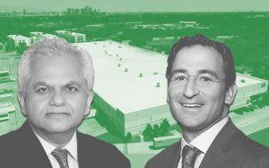 Nuveen CEO Vijay Advani, Blackstone President & COO Jonathan Gray and one of the Texas properties