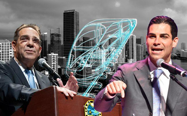 Miami-Dade County Commissioner Xavier Suarez and Miami City Mayor Francis Suarez (Credit: Getty Images, iStock)