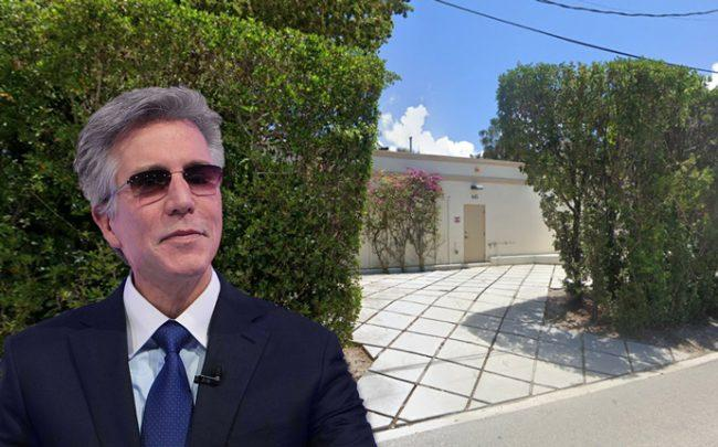 Bill McDermott and 445 North Lake Way (Credit: Getty Images and Google Maps)