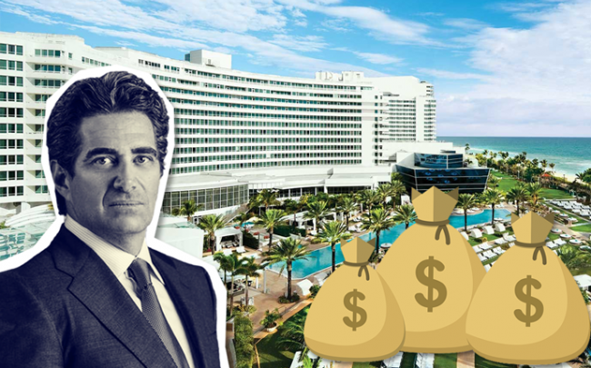 Jeffrey Soffer and Fontainebleau Miami Beach