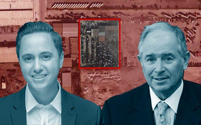 Fordome Investment Group's Kris Rodriguez and Blackstone's Stephen Schwarzman (Credit: Getty Images, Google Maps)
