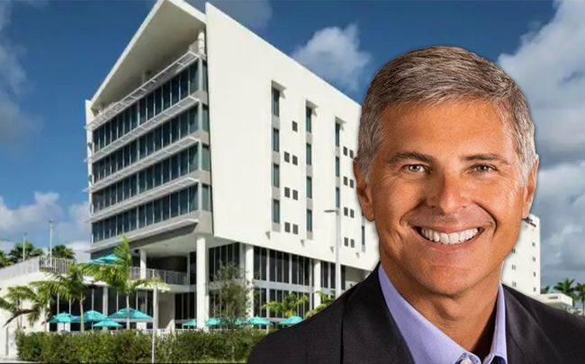 Christopher Nassetta and Doubletree by Hilton Doral managed by Driftwood Acquisitions and Development