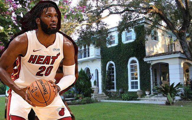 506 Sunset Drive and Justise Winslow (Credit: Getty Images)