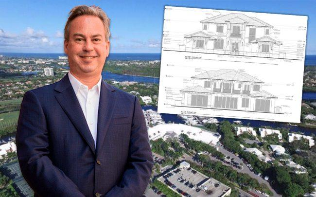 Brook Lenfest and plans for 107 Quayside Drive in the Admirals Cove community