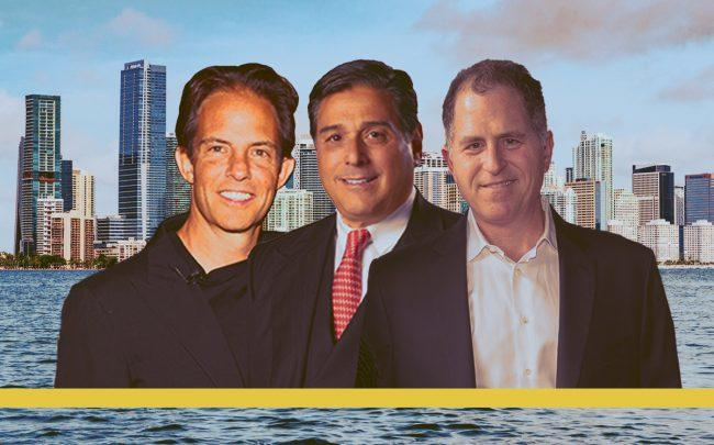 Michael Shvo Howard Wurzak and Michael Dell (Credit: Getty Images, iStock)