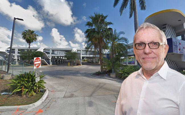 Bernard Zyscovich over the site of the county's bus terminal on Broward Boulevard (Credit: Google Maps)