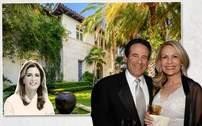 From left: Jill Hertzberg and 1633 North View Drive, and Dr. Arthur Agatston and Sari Agatston (Credit: Getty Images)