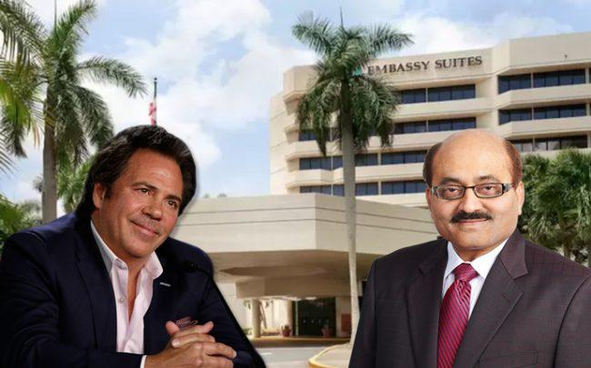 Tom Gores of Platinum Equity and Naveen Shah of Blue Sky Hospitality with 661 Northwest 53rd Street