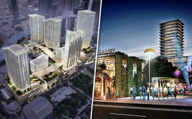 Renderings of Brickell City Centre and Magic City