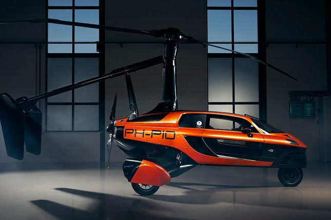 PAL-V Pioneer Flying Car prototype