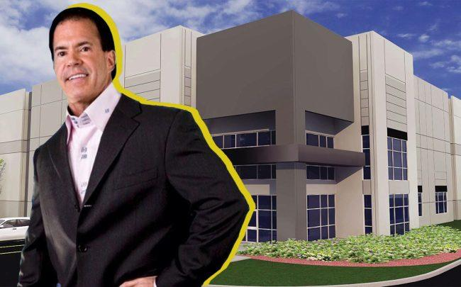 Jack Owoc and a South Florida Distribution Center Building (Credit: Core5)