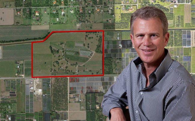 Centerline Capital Advisors President Craig Perry and 17101 Southwest 200th Street (Credit: Google Maps)