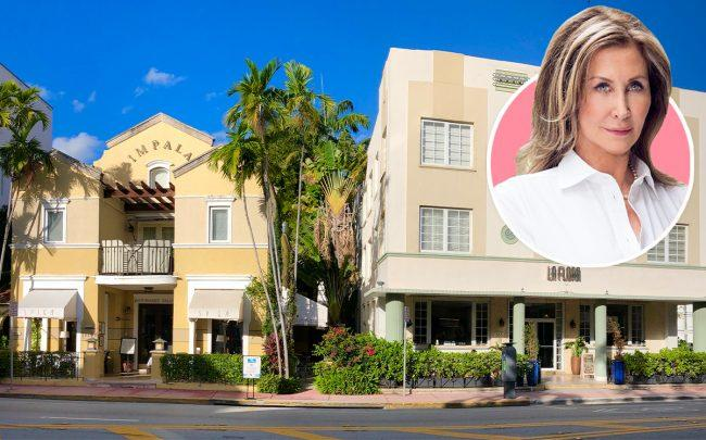 Susan Gale and the South Beach hotels
