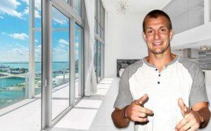 Marquis Miami unit and Robert Gronkowski (Credit: Getty Images)