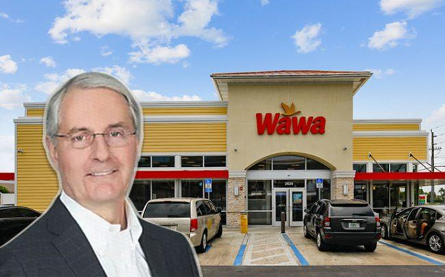 Stuart Lazier and the Wawa in Fort Lauderdale