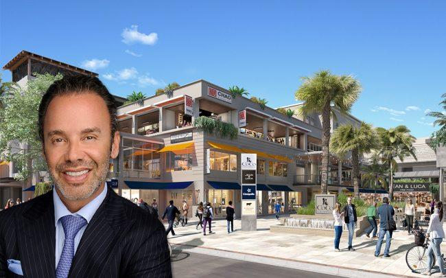 Jay Parker and a rendering of CocoWalk