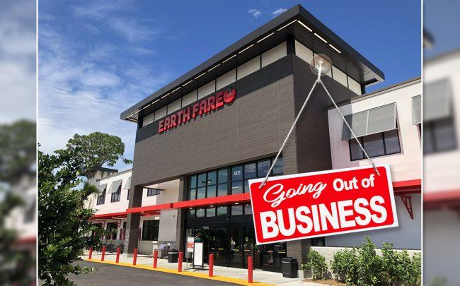 The health conscious grocer Earth Fare will close its stores