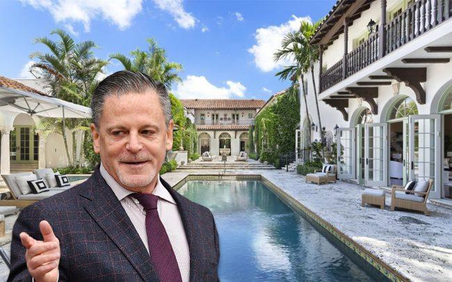 Dan Gilbert and 100 El Bravo Way (Credit: Getty Images and Realtor)