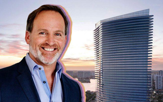 Bryan C. Hanson of Zimmer Biomet and the Residences by Armani/Casa