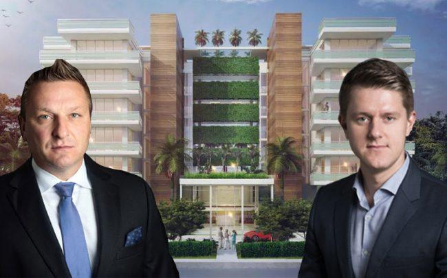 Verzasca Group's Le Jardin Residences, Darius Kasparaitis and Tim Lobanov