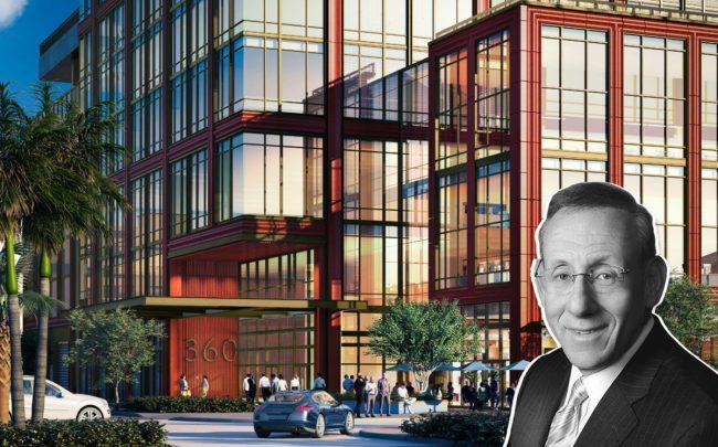 Related Companies Stephen Ross and 360 Rosemary (Credit: Elkus Manfredi Architects/ Related)