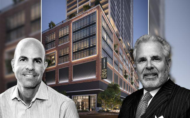 Russell Galbut and Harvey Hernandez, with Natiivo
