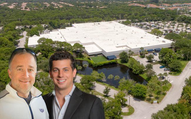 Tortoise Family Office CEO Jake Geleerd, Pebb Enterprises President and CEO Ian Weiner, and Jupiter Innovation Center