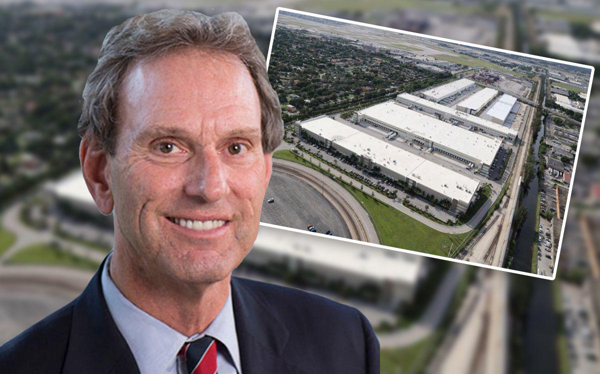 CenterPoint Properties CEO Bob Chapman and South Florida Logistics Center