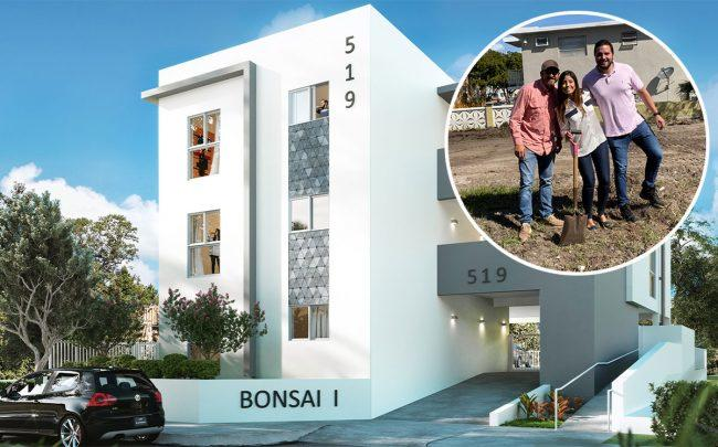 Rendering of Bonsai I with Ivanna Jimenez, Fernando Murzi and Jesus Luongo