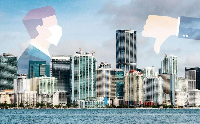 South Florida real estate is impacted by the coronavirus (Credit: iStock)