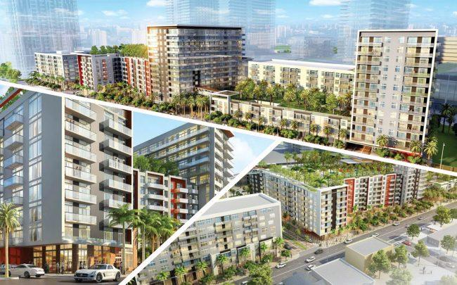 Renderings of Midtown Miami (Credit: AMLI)