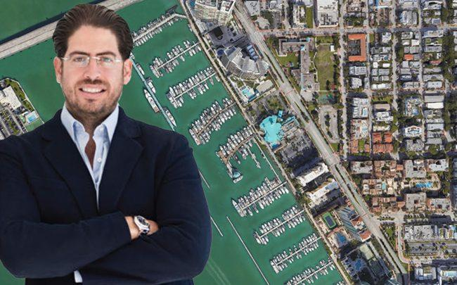 David Martin and Miami Beach Marina (Credit: Google Maps)