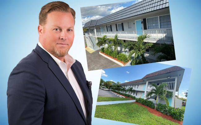 CapRate Commercial Real Estate Advisors' Bill Berthiaume and Tropical Villas Apartments