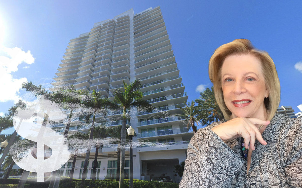 Louise Sunshine and the Grand Venetian in Miami Beach (Credit: Google Maps)