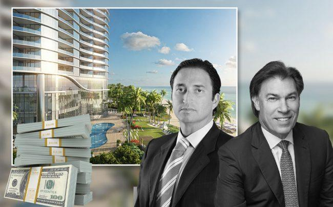 Rendering of the Ritz-Carlton Residences, Sunny Isles Beach with Manuel Grosskopf and Edgardo Defortuna