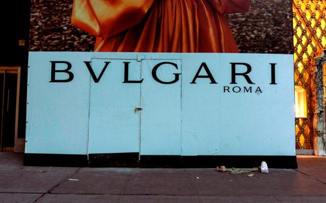 Bvlgari at 730 5th Avenue in New York (Photo by Erin Lefevre/NurPhoto via Getty Images)