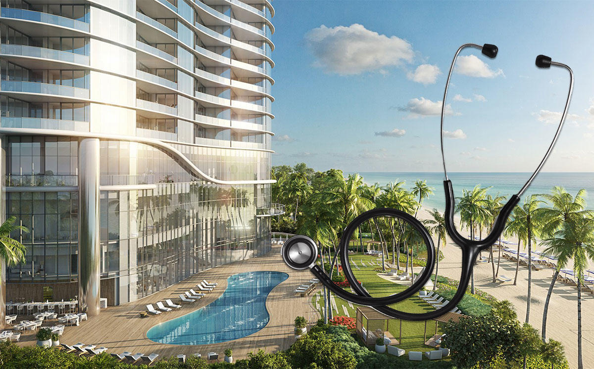 Ritz-Carlton Residences Sunny Isles Beach (Credit: Sunny Isles Property Venture LLC and iStock)