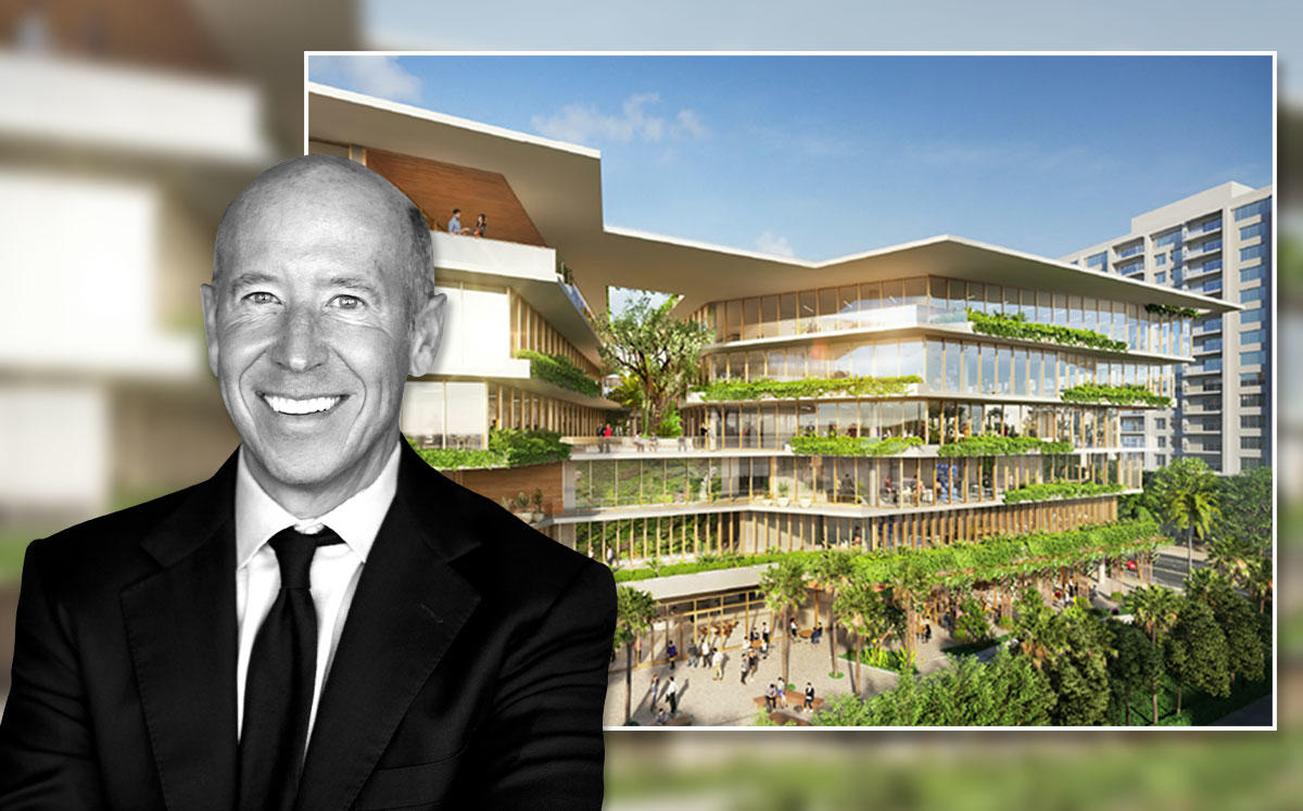Starwood Capital Group's Barry Sternlicht, Starwood's Miami Beach HQ at 2340 Collins Avenue