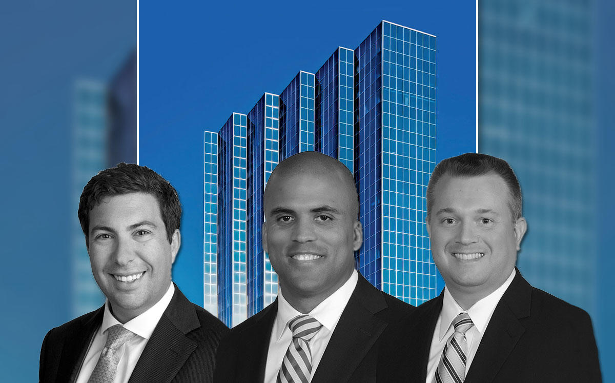 One Clearlake Centre, JLL Capital's Maxx Carney, Chris Drew and Ike Ojala