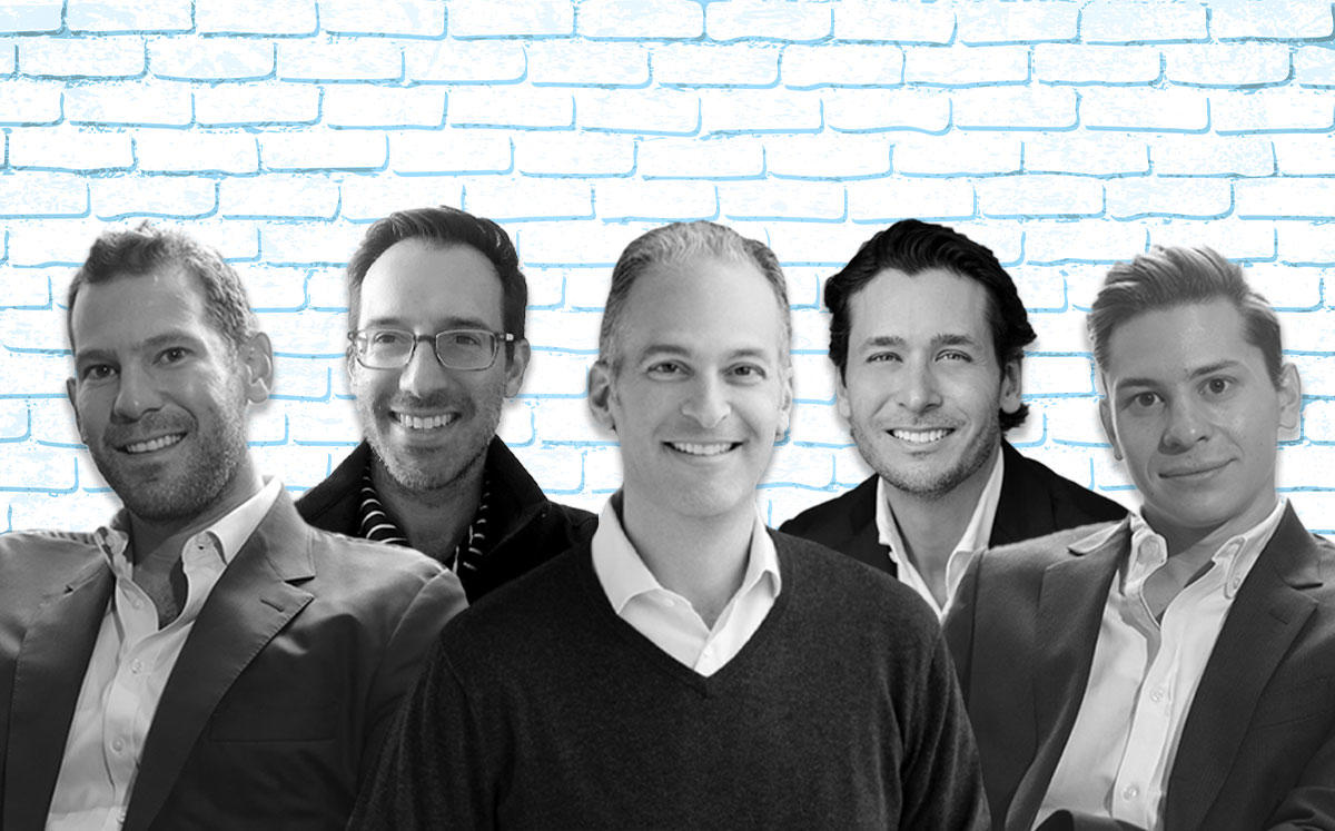 From left: David Weitz, Steve Wernick, Michael Lirtzman, Joe Furst, and Erik Rutter