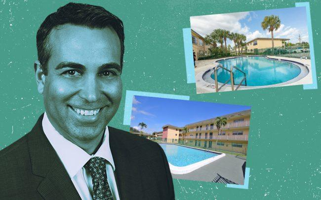 Tal Frydman with Hamlet Plantation and The Continental Apartments (Credit: Hamlet via Jenco Properties)