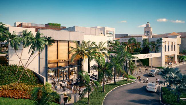 A rendering of Esplanade at Aventura